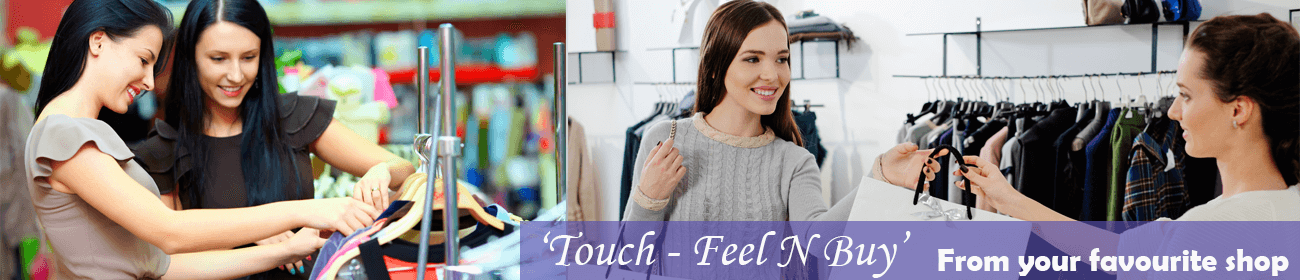 Touch Feel and buy